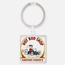 Hot Rod Shop Keychains