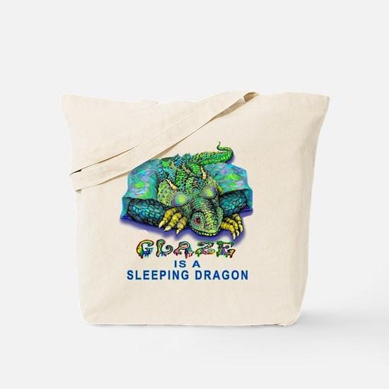 Glaze Dragon Pottery Tote Bag