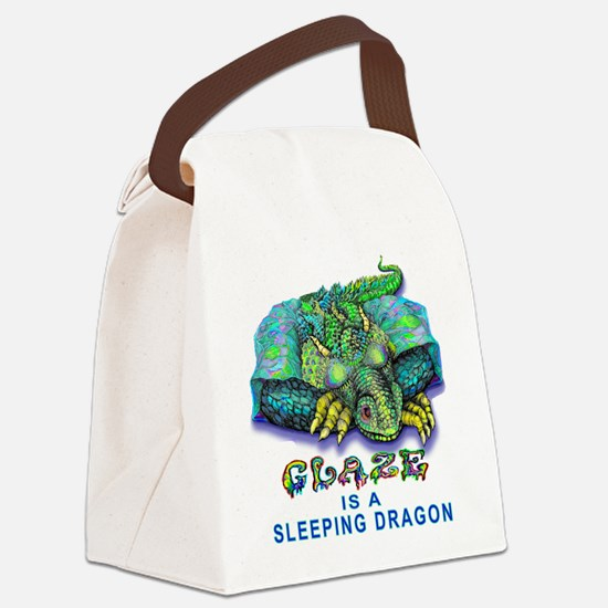 Glaze Dragon Pottery Canvas Lunch Bag