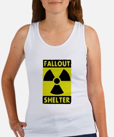 fall out shelter sign Tank Top