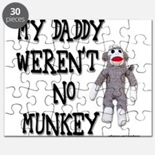 Evolution Sock Monkey Puzzle