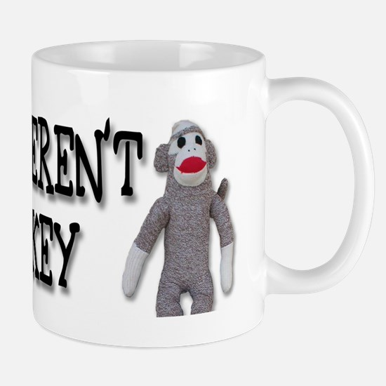 Evolution Sock Monkey, mug Mugs