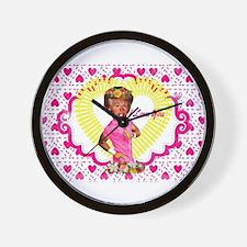 i love donald trump Wall Clock