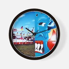 Carnival Face Wall Clock