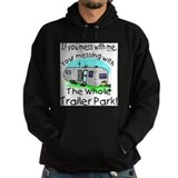 Funny camping Dark Hoodies