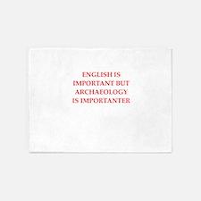 archaeology 5'x7'Area Rug