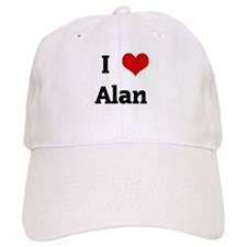I Love Alan Baseball Cap