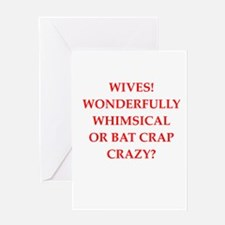 wives Greeting Cards