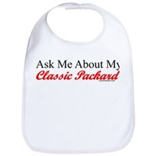 """""""Ask About My Packard"""" Bib"""