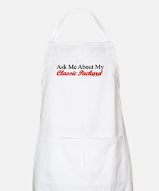 """""""Ask About My Packard"""" BBQ Apron"""