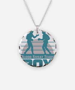 boxers sparring Necklace