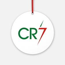 Unique Ronaldo Round Ornament