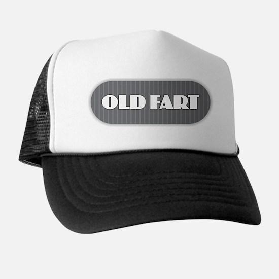 Old Fart - Gray Trucker Hat