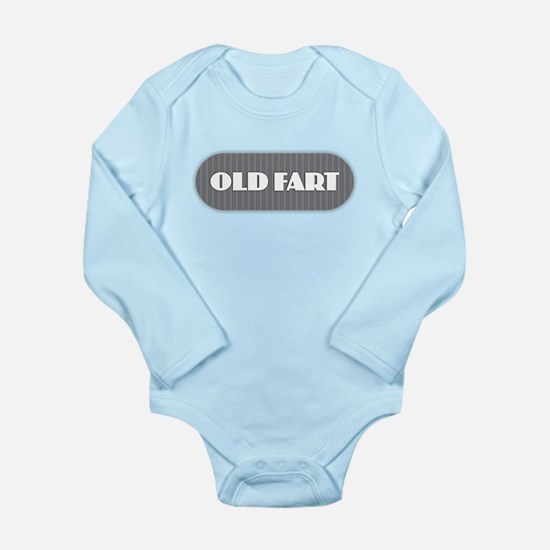 Old Fart - Gray Body Suit