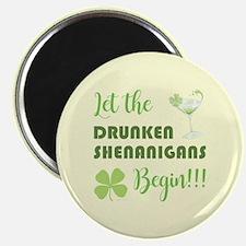 LET THE DRUNKEN... Magnet