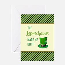 THE LEPRECHAUNS... Greeting Card