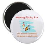 Fishing Pox Magnet