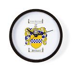 Stewart Coat of Arms Wall Clock