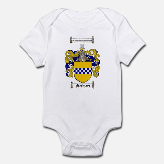 Stewart Coat of Arms Infant Bodysuit