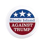 Rhode Island Against Trump Button