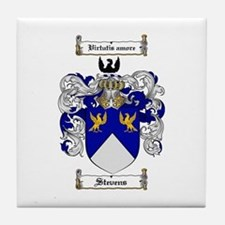 Stevens Coat of Arms Tile Coaster