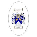 Stevens Coat of Arms Oval Sticker