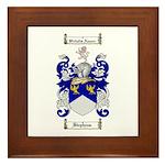 Stephens Coat of Arms Framed Tile