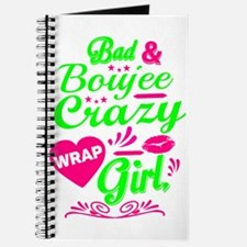 Bad and Boujee Crazy Wrap Girl Collection Journal
