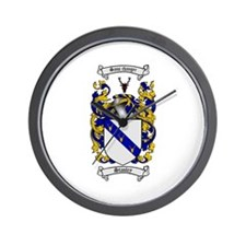 Stanley Coat of Arms Wall Clock