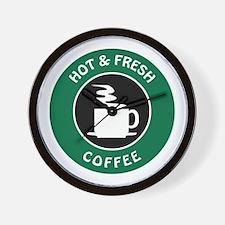 GIBBS COFFEE Wall Clock