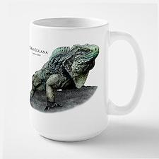 Cuban Iguana Large Mug