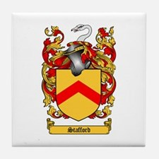 Stafford Coat of Arms Tile Coaster