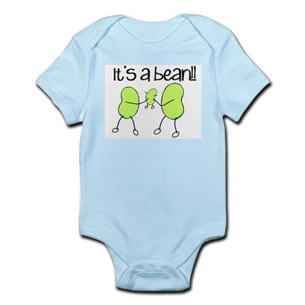 CafePress Baby Bean Infant Bodysuit