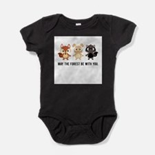 May the Forest Be With You Baby Bodysuit Body Suit