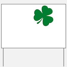 St Patrick's Day LOVE Shamrock Irish Yard Sign