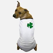 St Patrick's Day LOVE Shamrock Irish Dog T-Shirt
