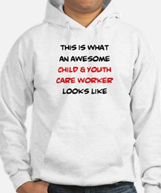 awesome child & youth care Hoodie