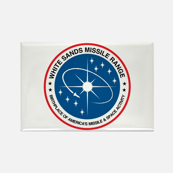 White Sands Missile Range Rectangle Magnet