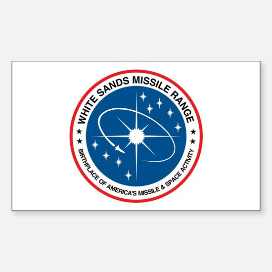 White Sands Missile Range Sticker (rectangle)