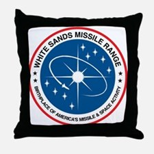 White Sands Missile Range Throw Pillow
