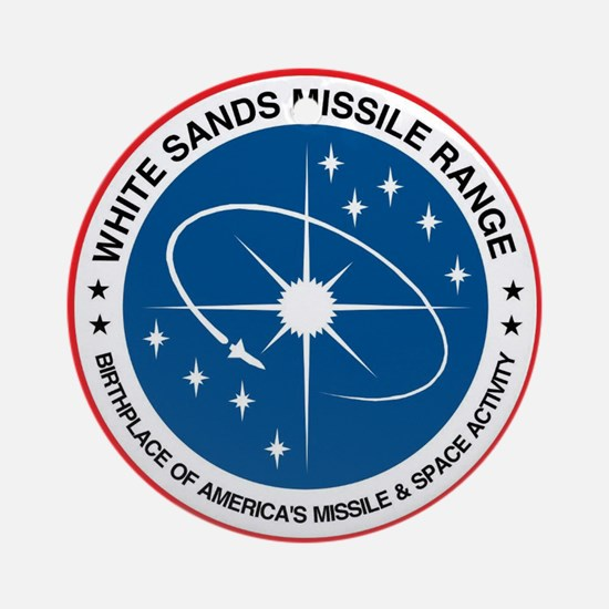 White Sands Missile Range Round Ornament