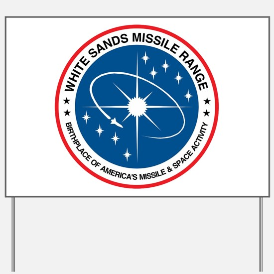 White Sands Missile Range Yard Sign