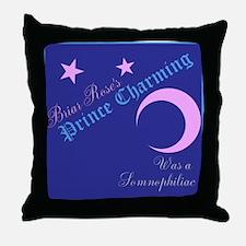 Briar Roses Prince Somnophiliac Throw Pillow