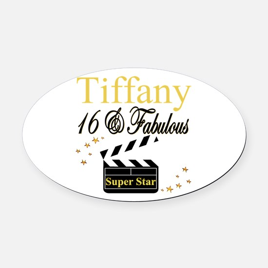 FABULOUS 16TH Oval Car Magnet