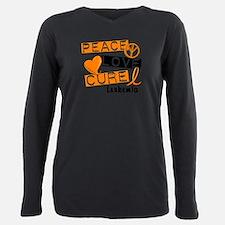 PEACE LOVE CURE Leukemia (L1) T-Shirt
