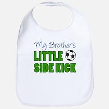 Brother's Little Side Kick Baby Bib