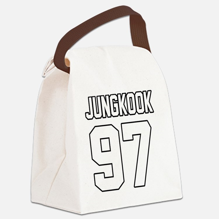 Cute Jin Canvas Lunch Bag