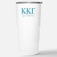 Kappa Kappa Gamma Soror Stainless Steel Travel Mug