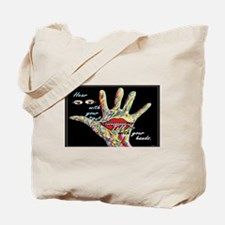 Cool Deaf art Tote Bag