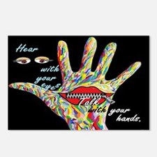 Hear With Your Eyes Postcards (Package of 8)